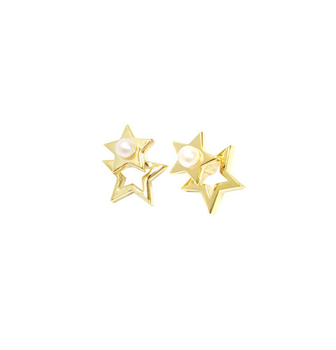 ┃GOLD PHILOSOTHY┃TWINKLE STAR EARRINGIN GOLD