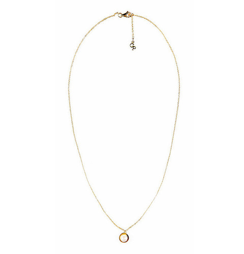 ┃GOLD PHILOSOTHY┃PEARL CHARM NECKLACEIN GOLD