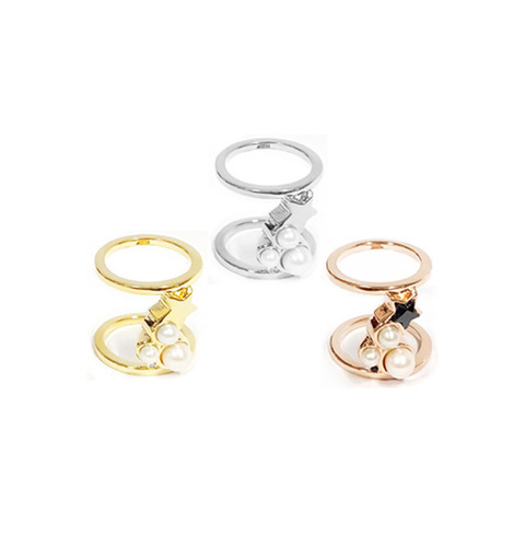 ┃GOLD PHILOSOTHY┃ PEARL GALAXIES RINGIN 3 COLORS