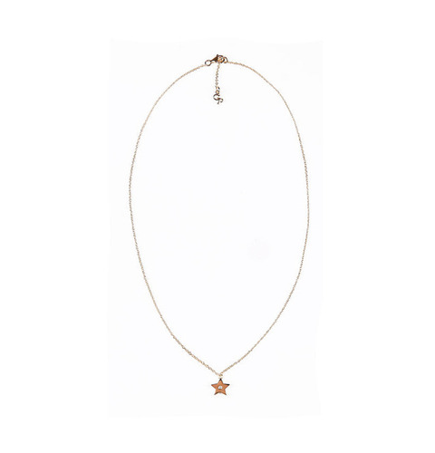 ┃GOLD PHILOSOTHY┃ STAR CHARM NECKLACEIN GOLD