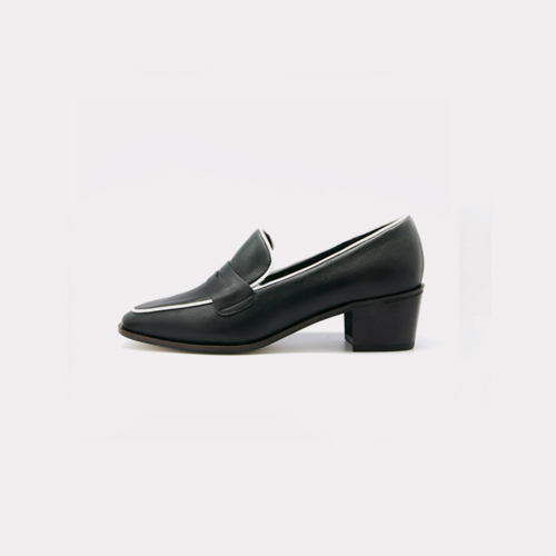 ┃LANE.910┃ CLASSIC PENNY LOAFERSwhite,black,sky