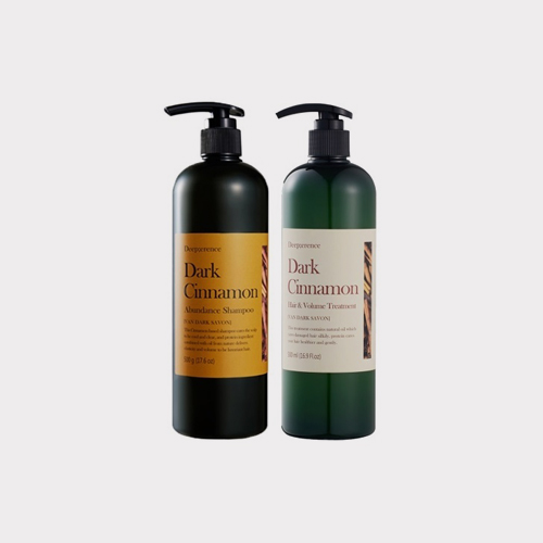 ┃DEEP;ERENCE┃ DARK CINNAMON PREMIUM HAIR CARE 2SET500ml+500ml