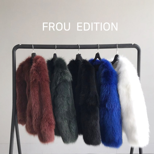 ┃FROU EDITION┃  FOX BOMBER JACKET5color