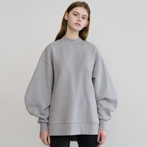 ┃HACER SEOUL┃ 17 WINTER ROUND SLEEVE M2Mgrey