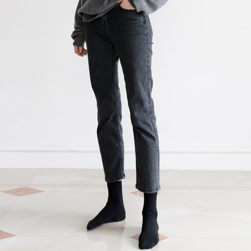 ┃HACER SEOUL┃ 17 WINTER STRAIGHT GREY JEANgrey