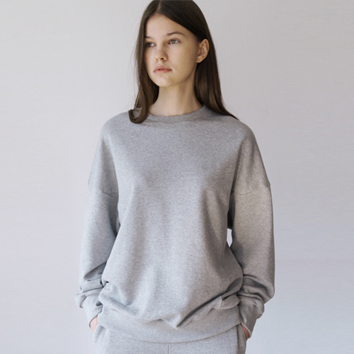 ┃MORE H.┃ 18 SPRING SWEAT SHIRTS black, grey