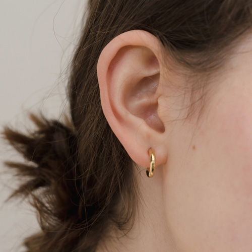 ┃NINETEEN TWO┃ RING EARRING (S)silver,gold