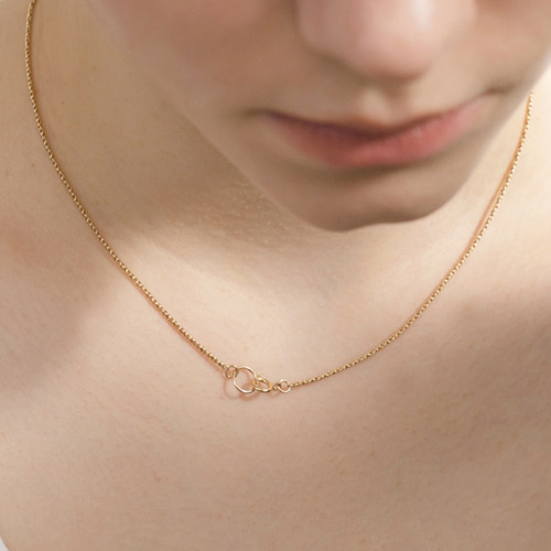 ┃NINETEEN TWO┃ GOLDFILLED RING NECKLACEgold