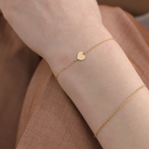 ┃NINETEEN TWO┃ 14k GOLD LOVE BRACELET gold